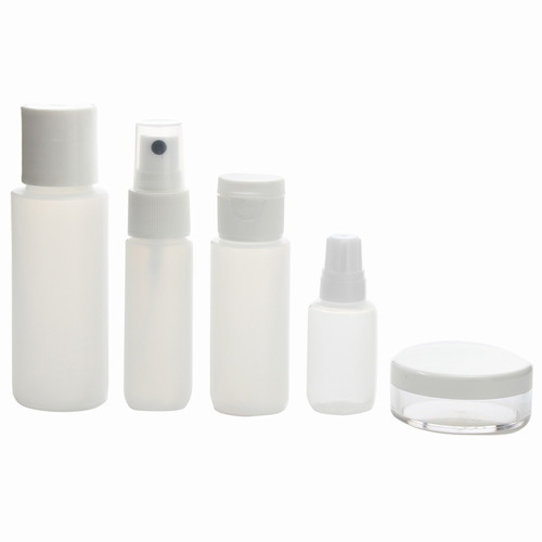 <<AIR SUPPLIES TRAVEL BOTTLE SET>> 詰め替え用ボトルセット クリア / 50294-01