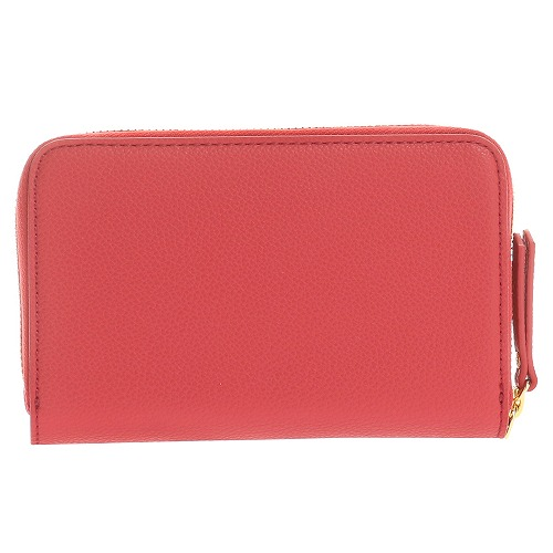 <<F1 T5 COLLECTION TRAVEL WRISTLET WALLET>> トラベルリストレットウォレット  レッド / 50372-10