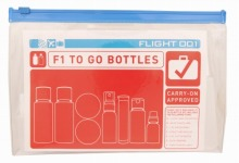 <<To Go Bottles &Jars>> 液体機内持ち込み用 詰め替えボトルセット / 50106-01